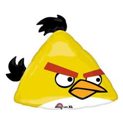 Angry Birds - žltý vták Super Shape fóliový balón