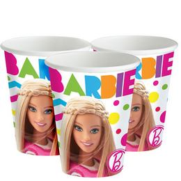 Barbie Sparkle - papierové party poháre - 226 ml, 8 ks/bal