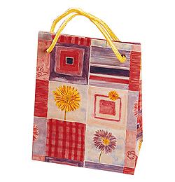 Kvetinová mini darčeková taška