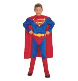 Superman - kostým pre deti, veľkosť M