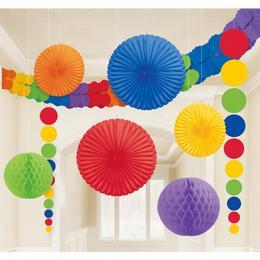 Party dekoračná sada- farebná