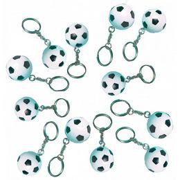 Kľúčenka futbalová lopta, 12 ks