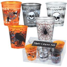 Halloween poháre - 6 ks