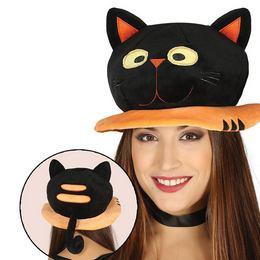 tenká čierna mačička nahé gilr