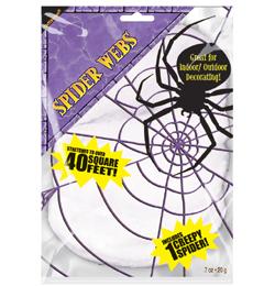 Biela pavučina + 1 pavúk