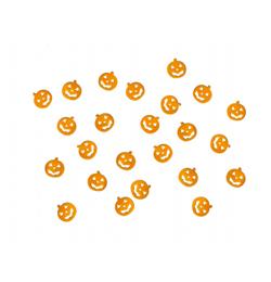 Konfety na Halloween, oranžové tekvice, 15 g