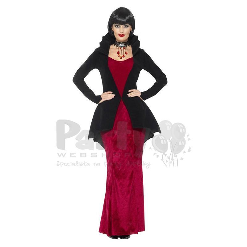 Dámsky kostým kráľovná upírov cf0dc13a9df