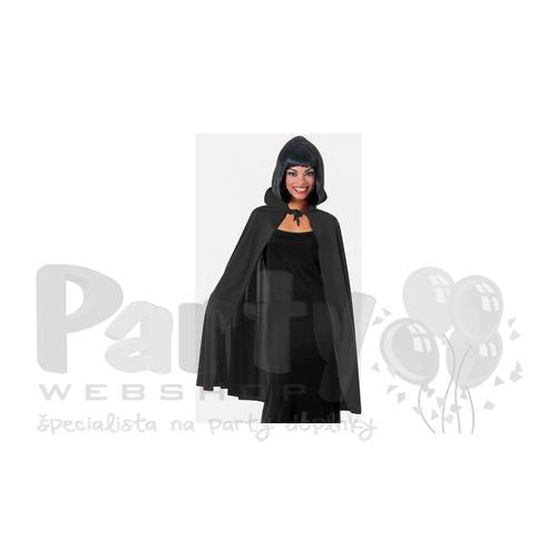 Dámsky plášť s golierom - čierny c355353171e