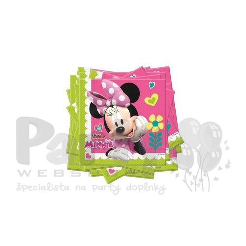 Party servítky Minnie Happy Helpers - 33 cm x 33 cm, 20 ks