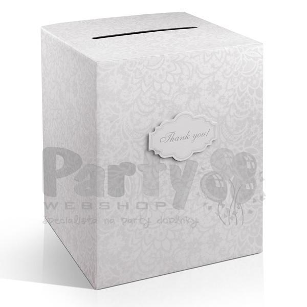 Krabica na telegramy, box na svadobn telegramy, krabica