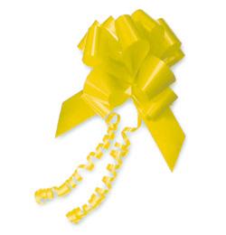 Mašľa žltá veľká - 20 ks
