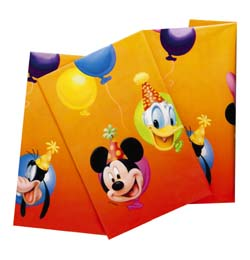 Minnie a Mickey Mouse party Obrus - 120 cm x 180 cm