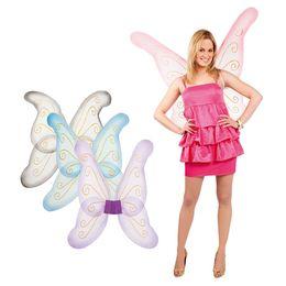 Veľké motýlie krídla - 76 cm x 80 cm - v štyroch farbách