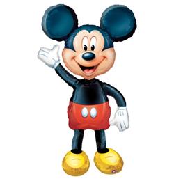 Mickey Mouse chodiaci fóliový balón