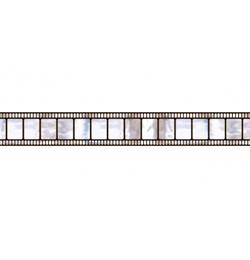 Hollywoodsky filmový pás party dekorácia - 46 cm x12 m