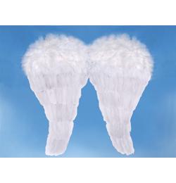 Biele anjelské krídla, 50 cm x 46 cm