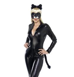 Sexy veľká mačička ženy