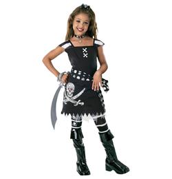 Lebkovaná pirátska maska pre dievčatá veľkosť M