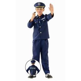 Kostým pre deti - policajt, veľkosť S