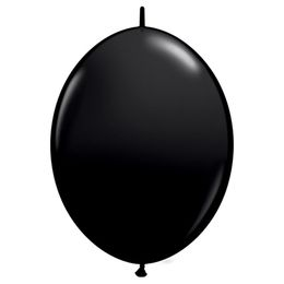 12 inch Onyx Black Quick Link (Fashion) čierny balón (50 ks/bal)