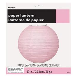 Party lampión - svetloružový, 25 cm