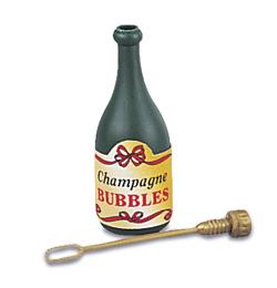 Svadobný bublifuk - v tvare šampanského, 24 ks