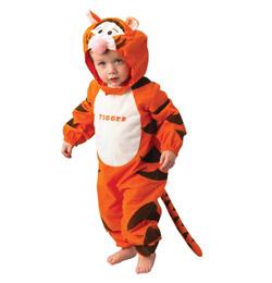 Tiger - kostým pre deti od 2 až do 3 rokov
