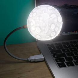 USB lampa - mesiac