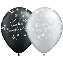 Balón na narodeniny - so slovenským nápisom